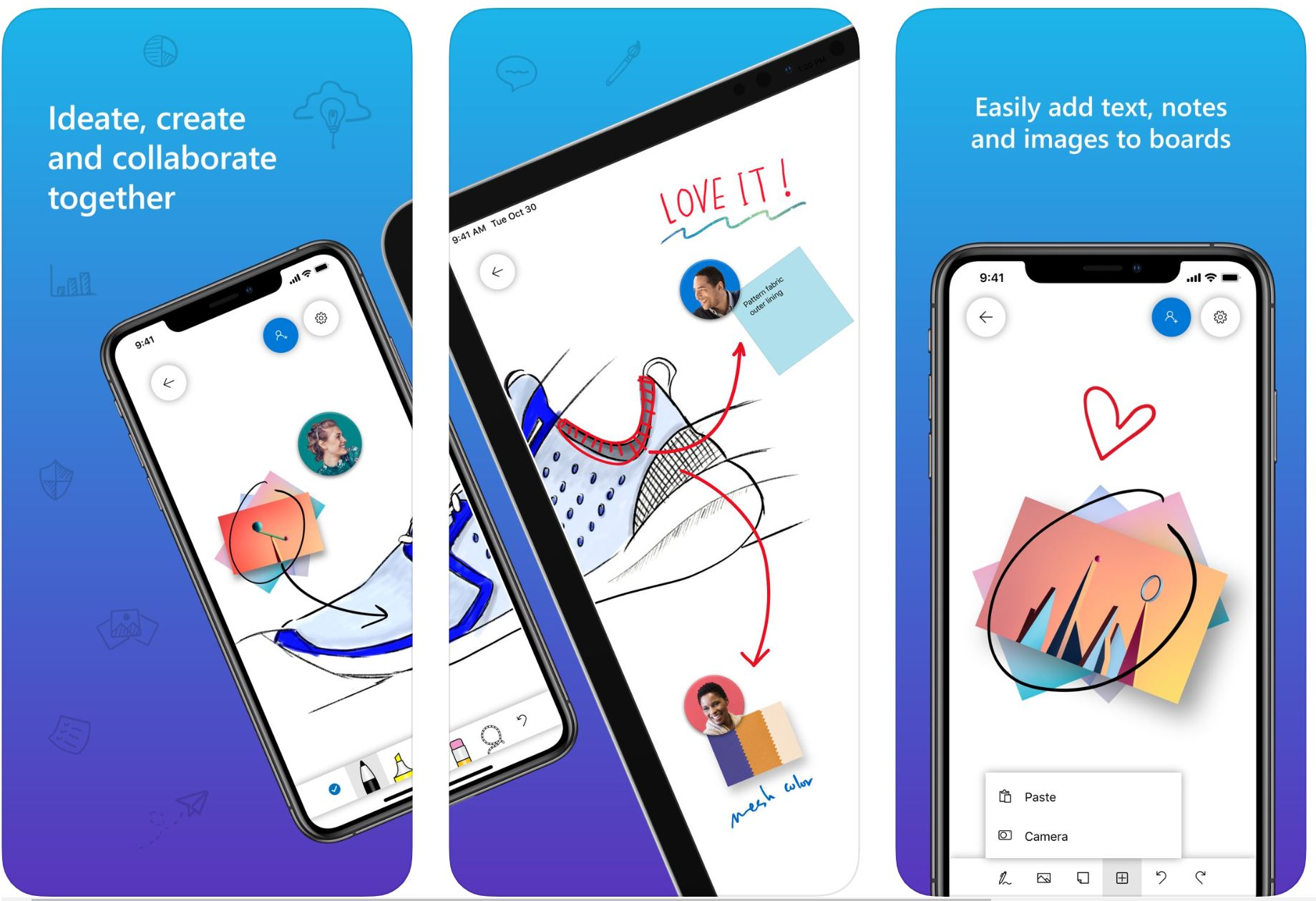Microsoft Whiteboard for iOS updated with improved inking experience and more 1