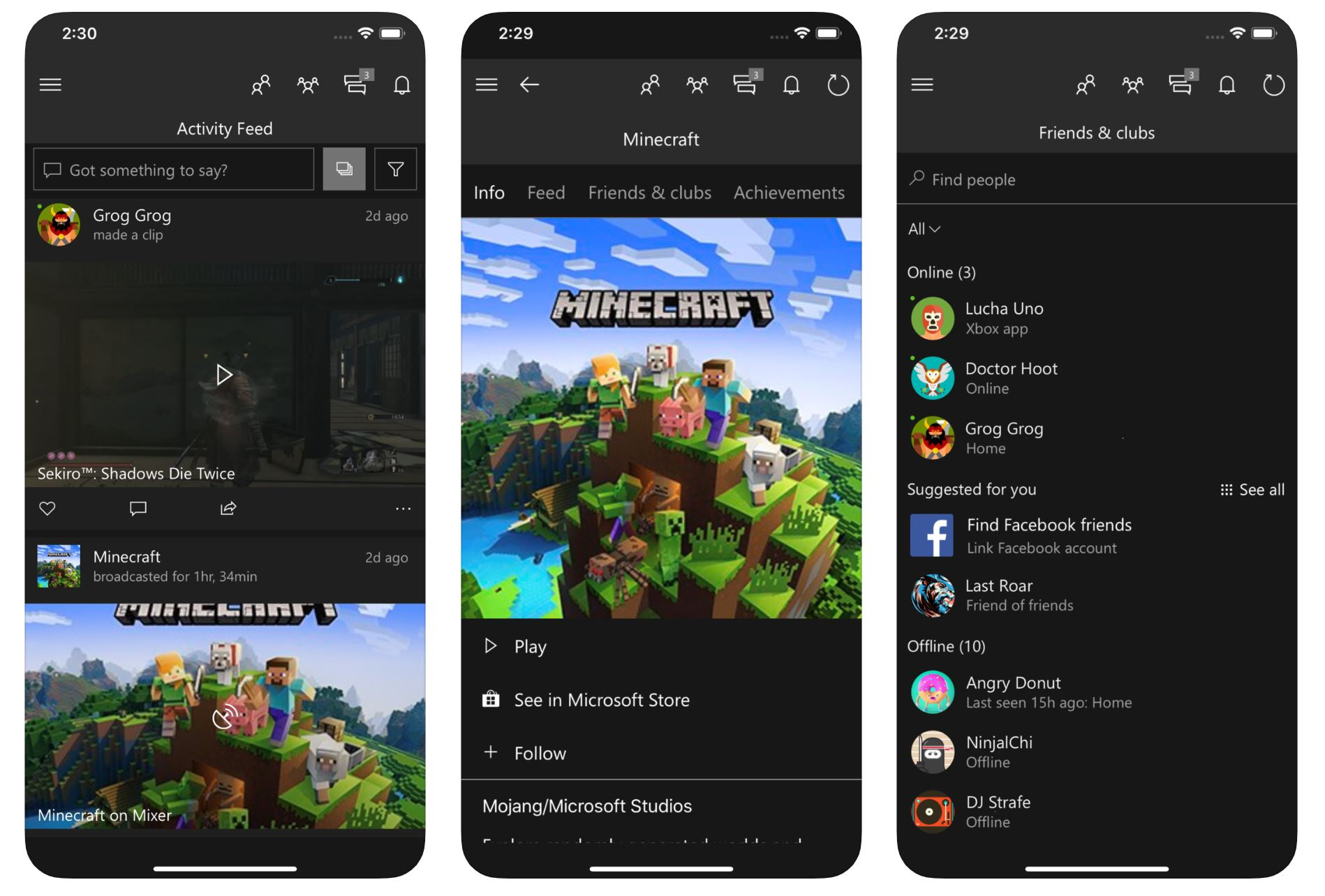 Xbox app for Android and iOS updated with support for images
