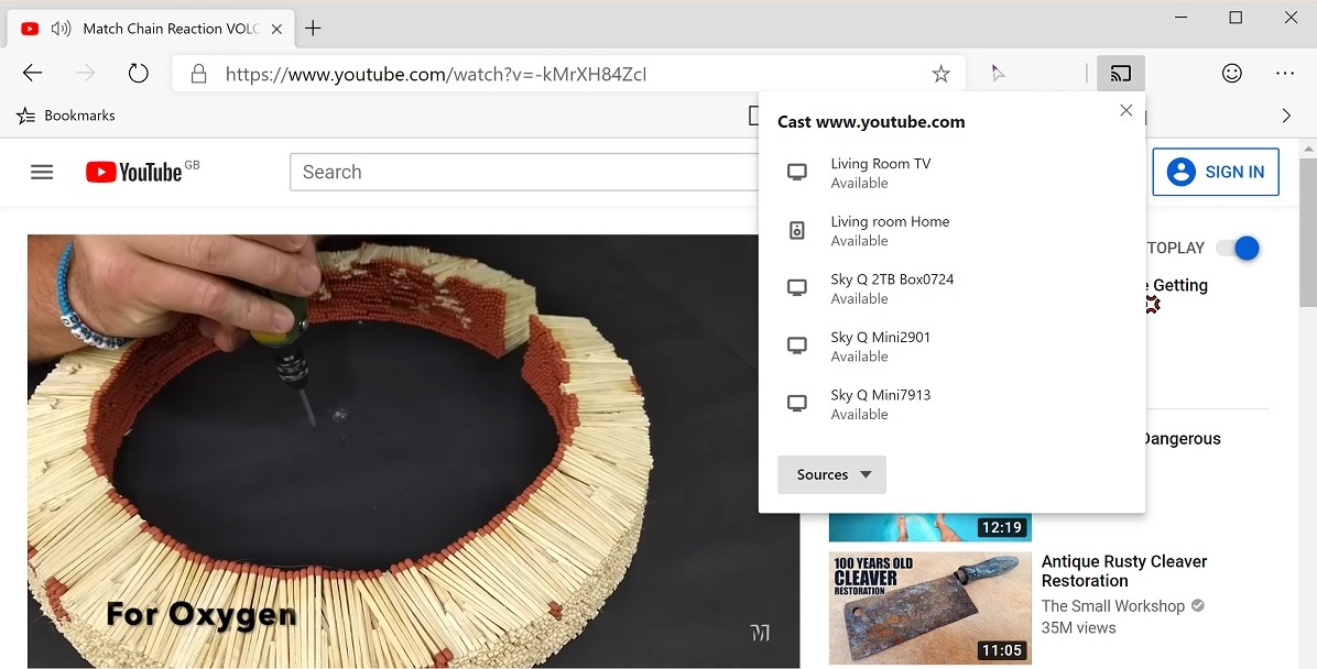 The new Microsoft Edge browser supports Chromecast natively! Here's how to enable it 1