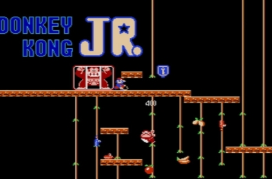 Donkey Kong JR, Vs. Excitebike, and Clu Clu Land joining NES Online 3