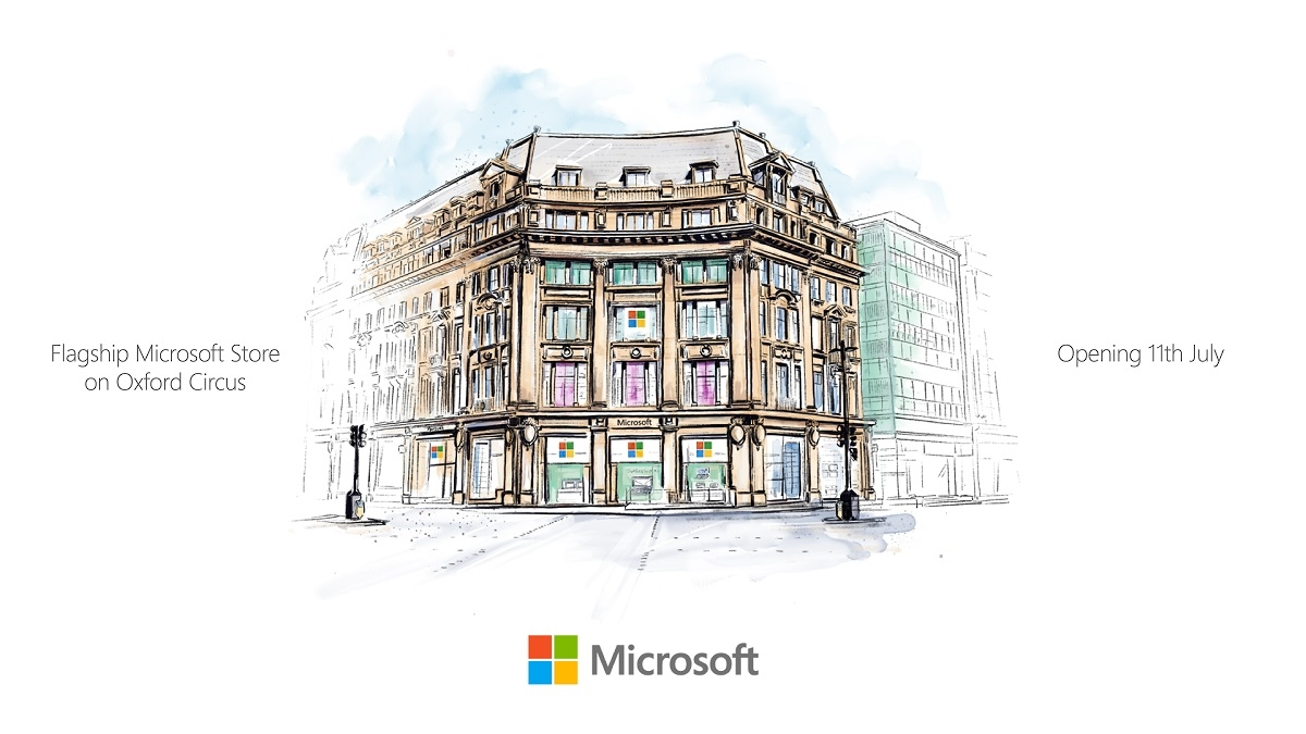 Microsoft finally announce opening date for flagship Microsoft Store in London 1