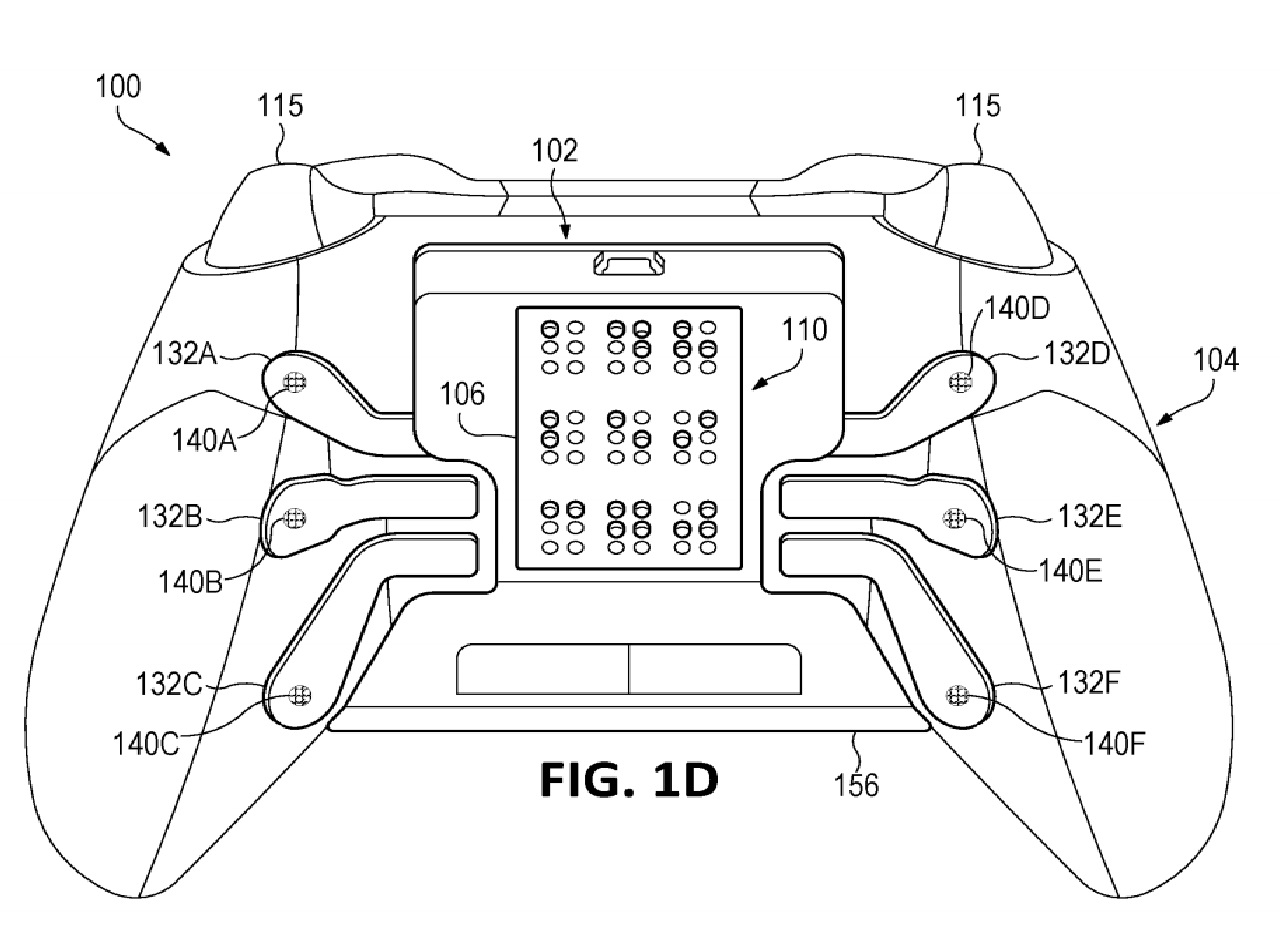 Microsoft patents new Xbox controller with haptic braille output