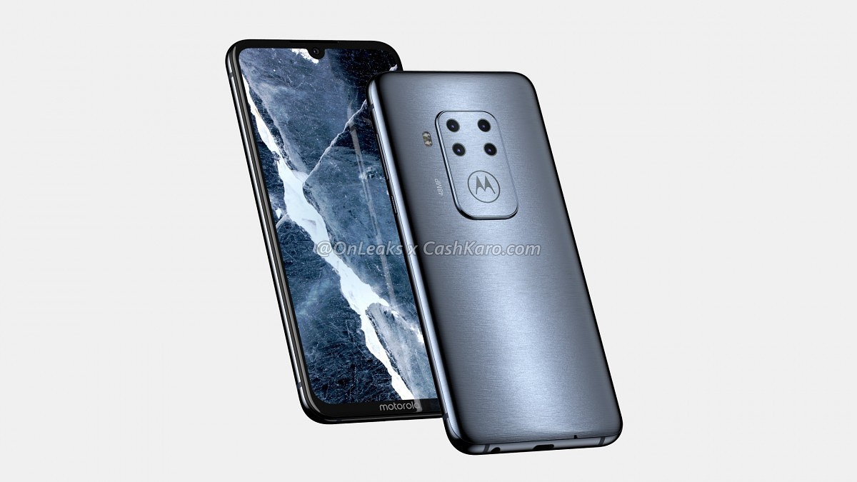Motorola One Pro leaks again with tiny notch and enormous camera hump