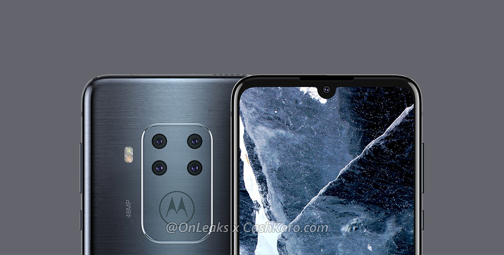 Motorola One Pro leaks again with tiny notch and huge camera hump
