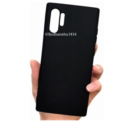 Galaxy Note 10 case renders and screen protector leaked online 2