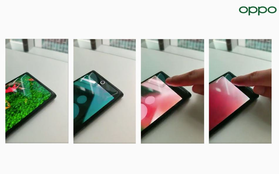 OPPO previews its breakthrough under screen camera technology 1
