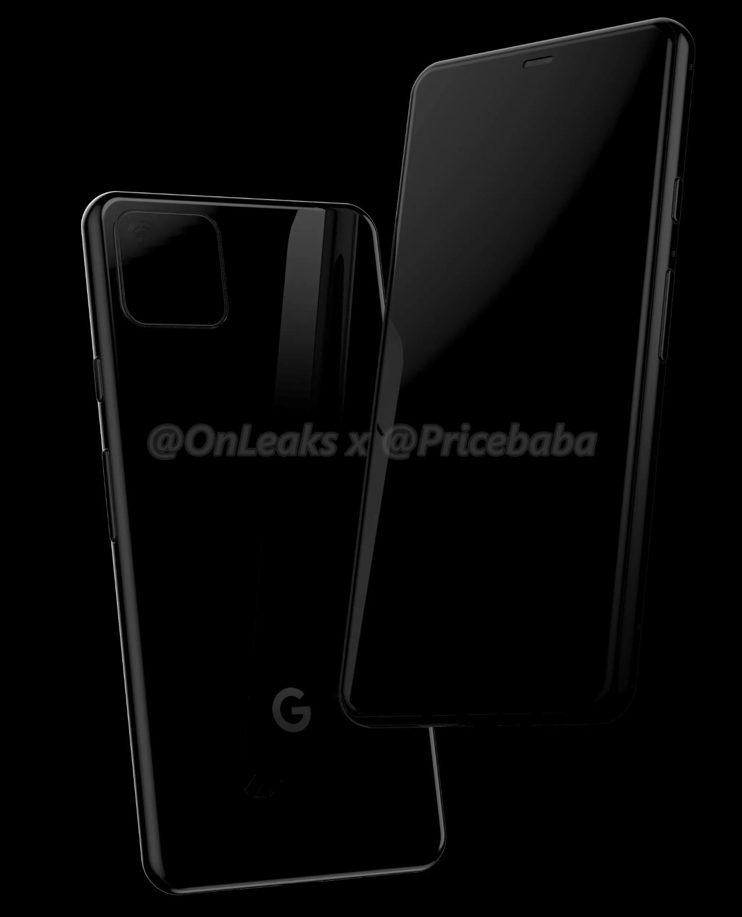 Google Pixel 4 renders appears online for the first time 1