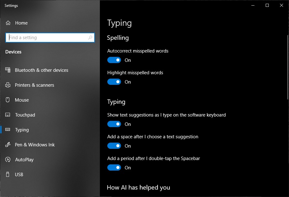 The typing experience in Windows 10 20H1 Update is likely to get a lot better, here is why 1