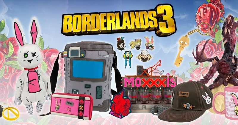 Numskull reveals heaps of Borderlands 3 merch - MSPoweruser