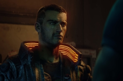 Cyberpunk 2077 image featuring the male version of protagonist V