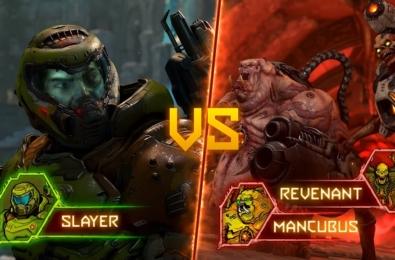 DOOM BATTLEMODE multiplayer puts one Doomslayer against two demons 10