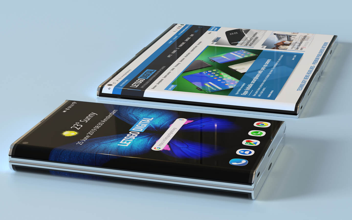 Samsung's own new take on the Samsung Galaxy Fold features a gorgeous edge display 3