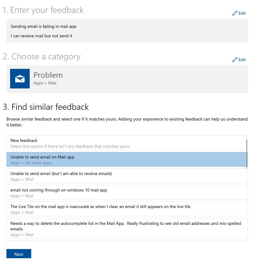 "Microsoft adds ""similar feedback"" feature to Feedback Hub 1"