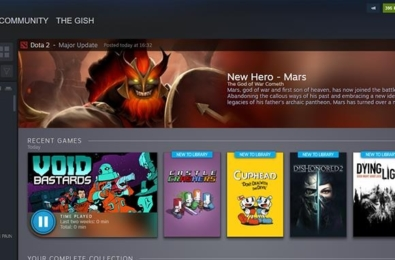 Steam's sleek library update now has a release date 2