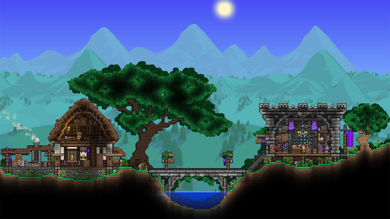 Review: Terraria on Switch is a wild and beautiful nightmare