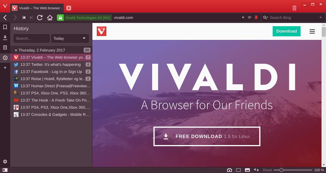 Vivaldi Web Browser 3.5.2115.71  For Win/Mac 2021