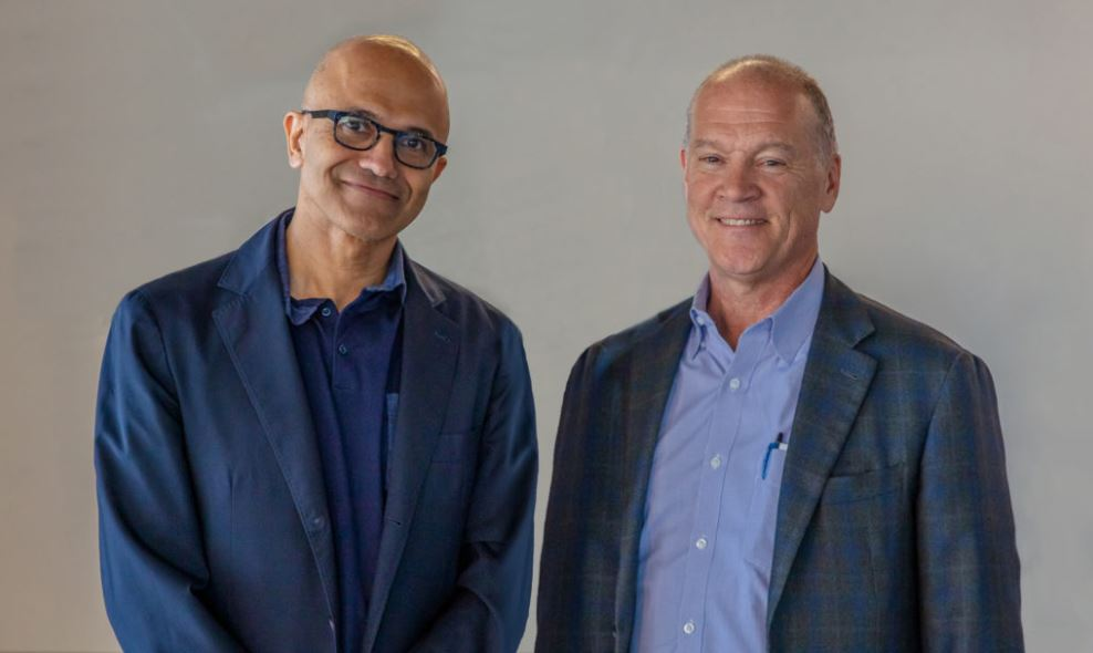 Profit soars for Microsoft fueled by cloud, business services