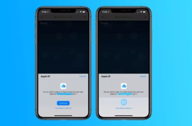 Apple testing FaceID login support for iCloud web experience 7