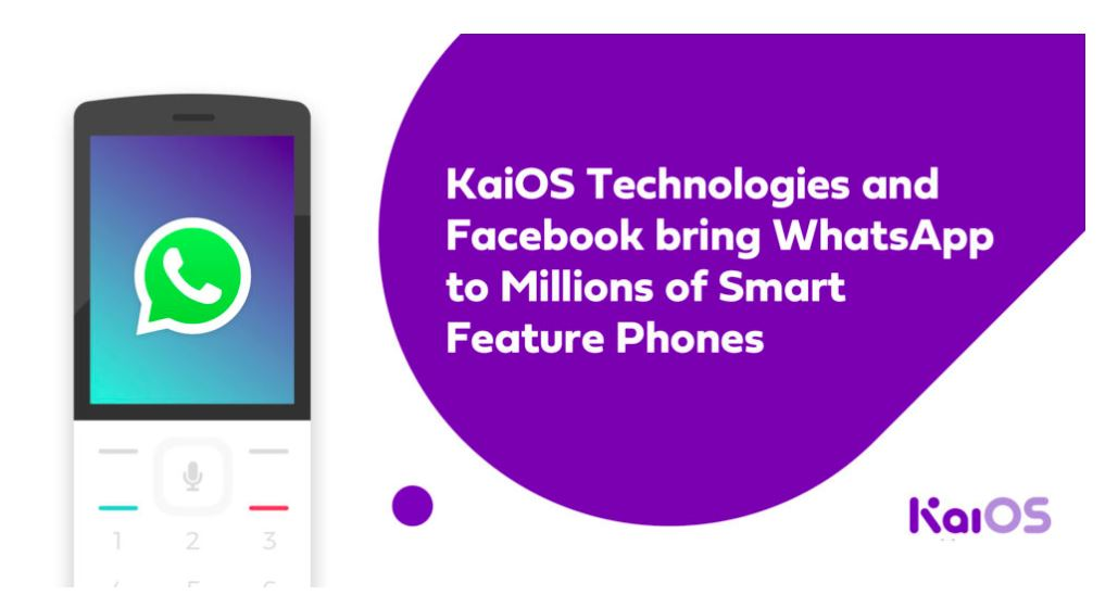 WhatsApp launches on KaiOS-powered smart feature phones in Africa