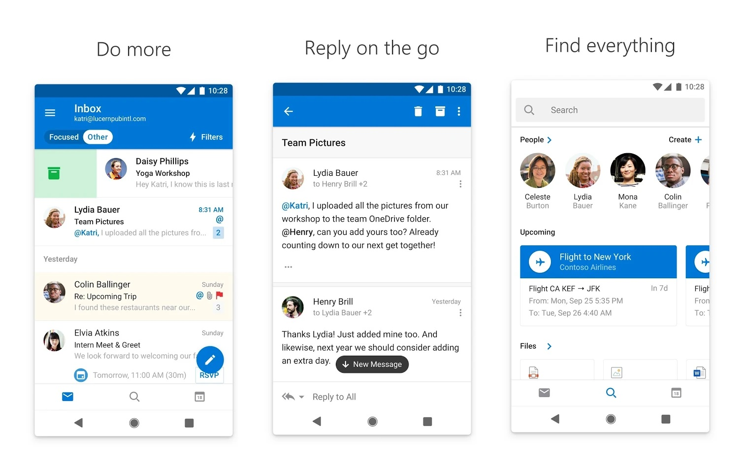 Latest Outlook for Android update allows users to propose new time