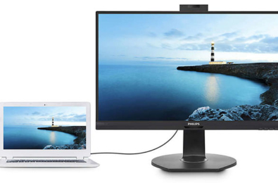 Philips launches new monitors with USB docking support and Windows Hello 3