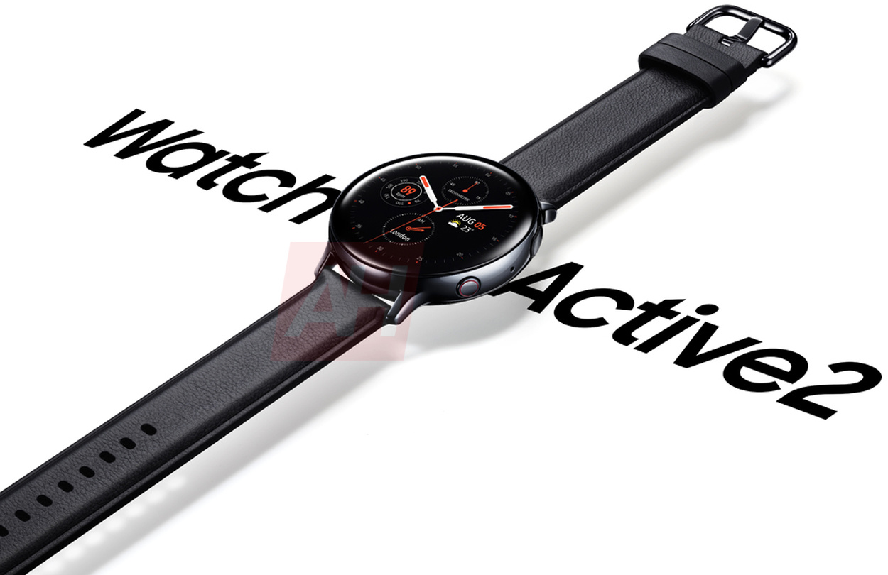 Samsung Galaxy Watch Active 2 official render surfaces