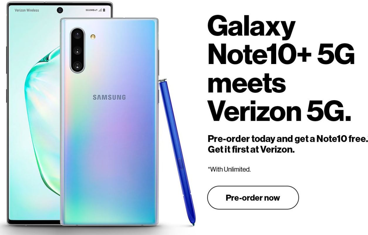 Samsung's US Trade-in page for the Galaxy Note 10 goes live