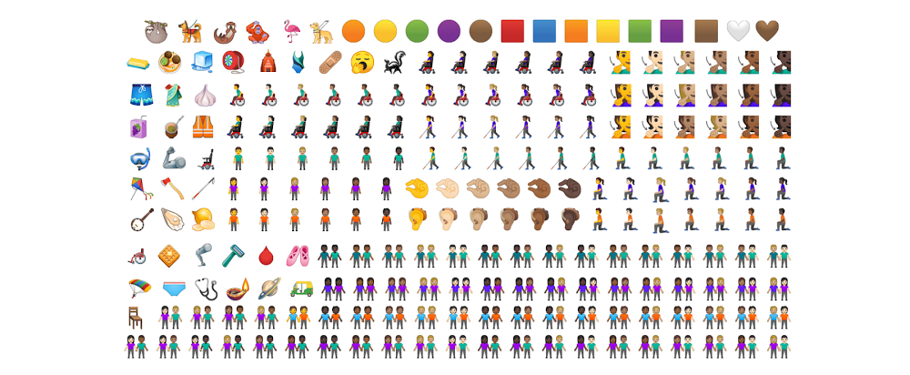 Google shares all the new emoji coming to Android Q this fall 2