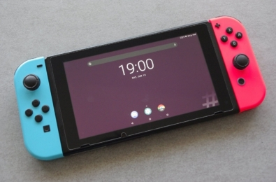 You can now run an Android port on the Nintendo Switch 1