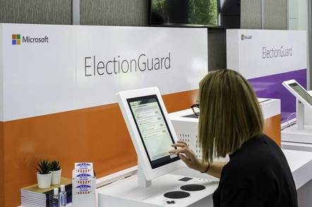 photo of Microsoft's ElectionGuard voting machine software gets its first real-world test tomorrow image