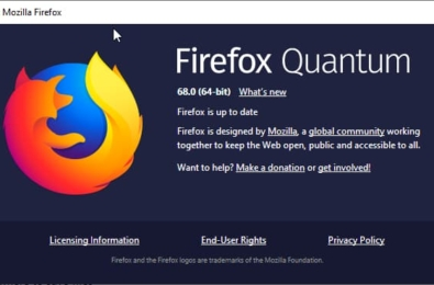 Firefox 68 update focuses on improvements to overall theme 1