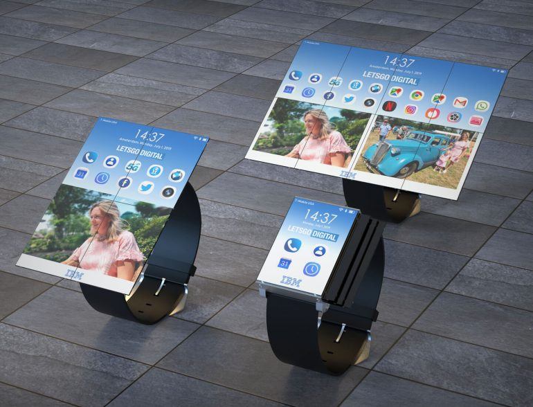IBM brought a watch that develop in the smartphone and tablet