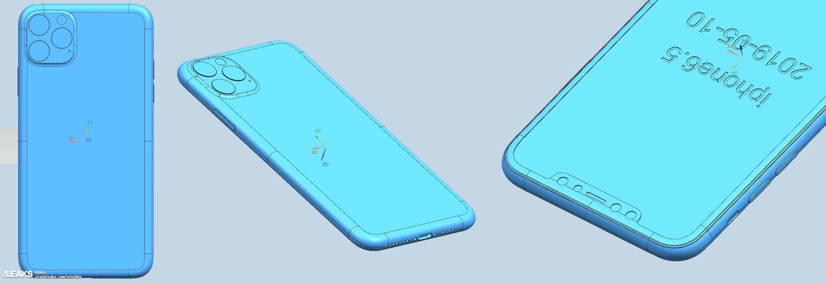 New leaked iPhone 11 renders show the rear camera design 4