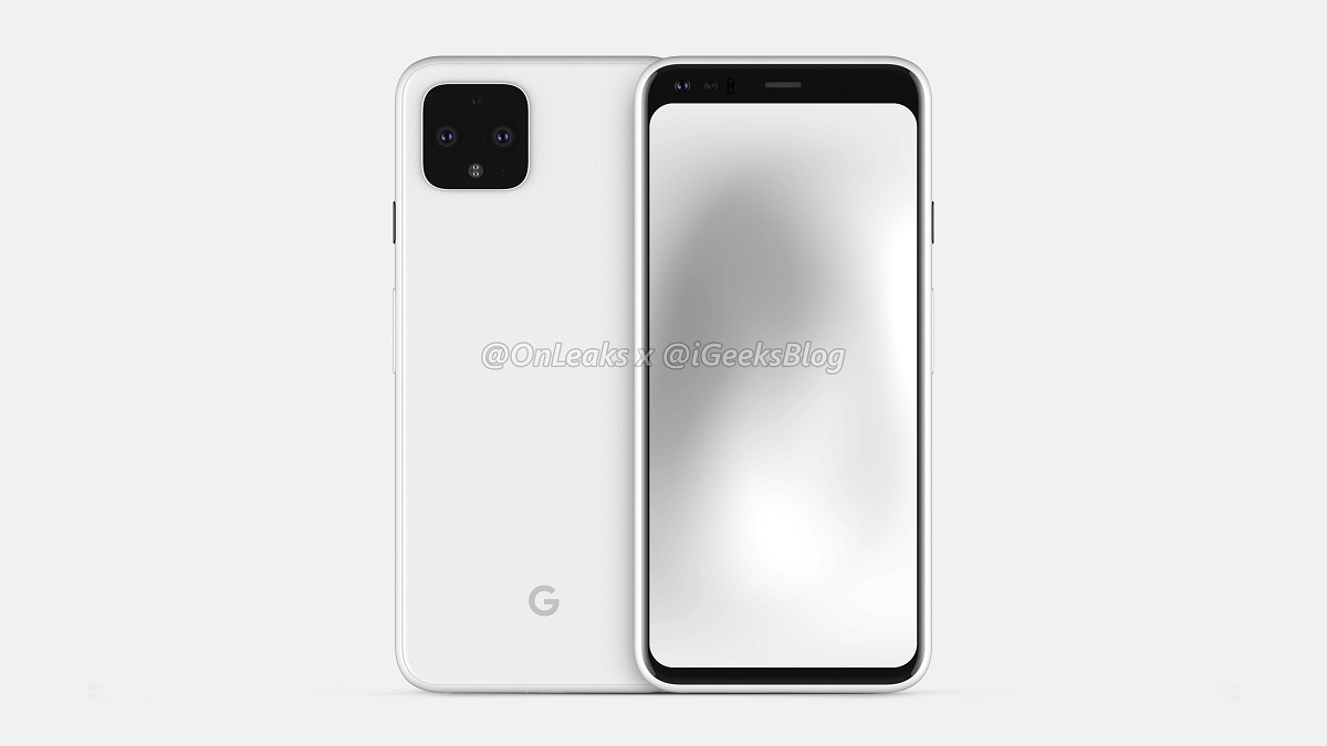 Pixel 4 Credible Leak Shows No Notch and a Mysterious Spectral Sensor