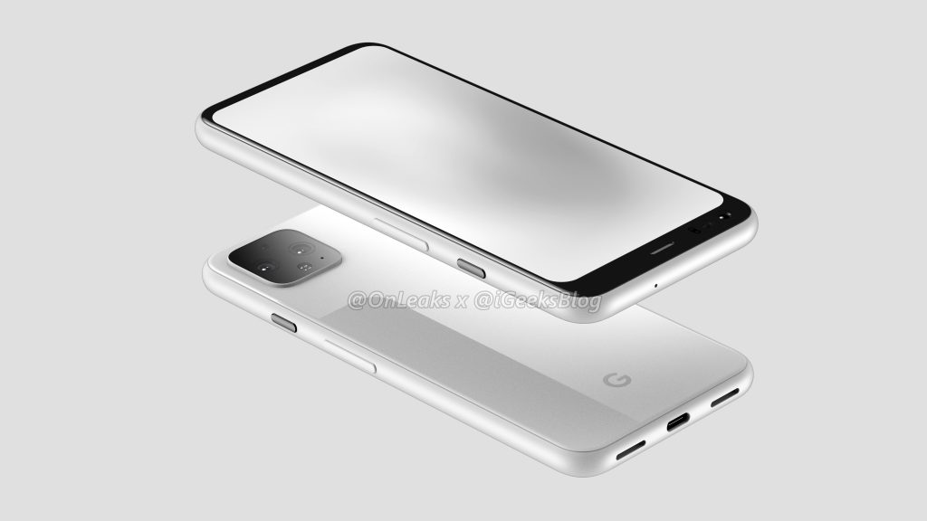 Pixel 4 To Get Big Bezel, Motion Gestures