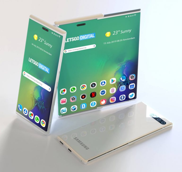 Samsung Galaxy Tab S6 renders leak, show off weird S-Pen placement