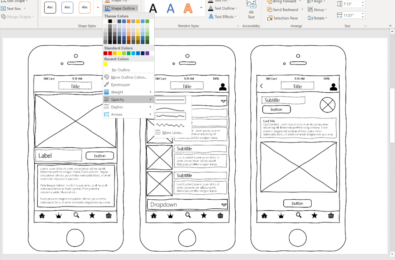 Latest Microsoft Office feature allows you to easily create work-in-progress diagrams and models 20
