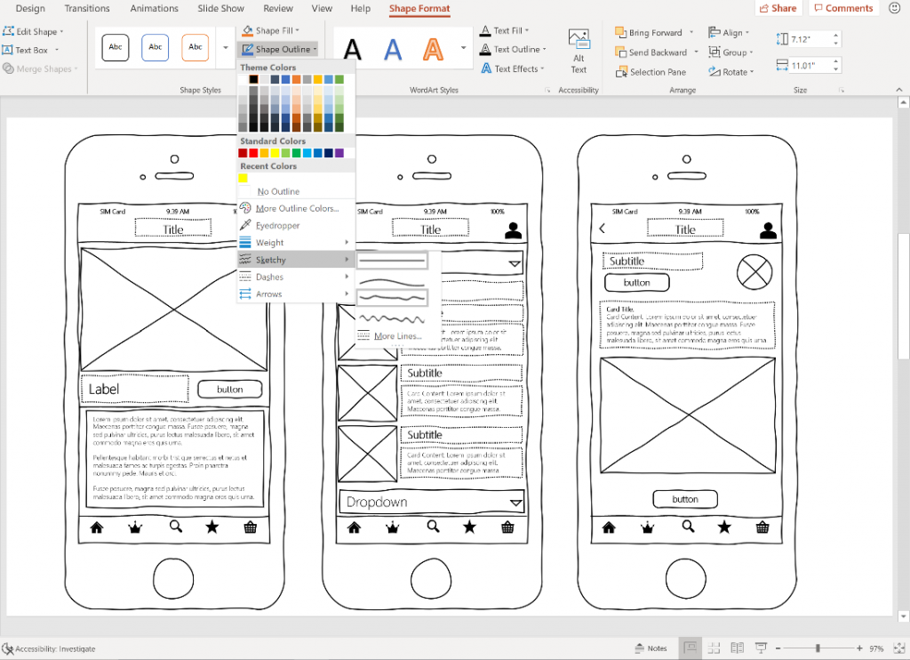 Latest Microsoft Office feature allows you to easily create work-in-progress diagrams and models