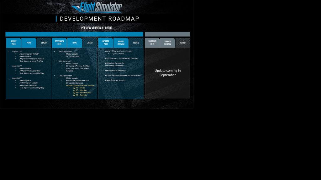 Microsoft Flight Simulator technical alpha comes this