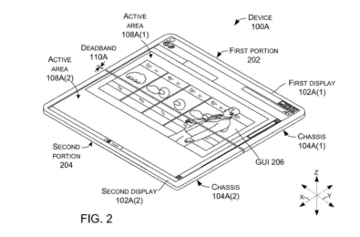 Microsoft shows off an interesting computing display in a latest patent 7