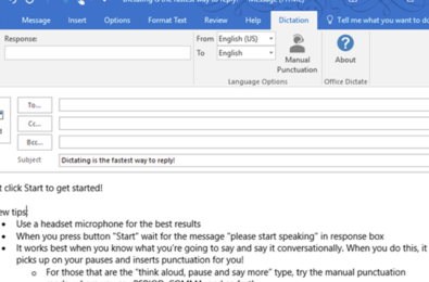 Voice Dictation in Microsoft Word is about to get a lot better 3