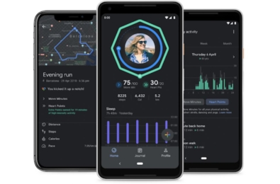 The Google Fit app updated with improved sleep insights and dark theme 1