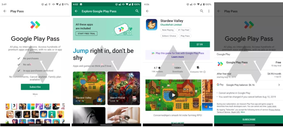 Google testing Play Pass, a wannabe Xbox Game Pass but goes beyond games 1