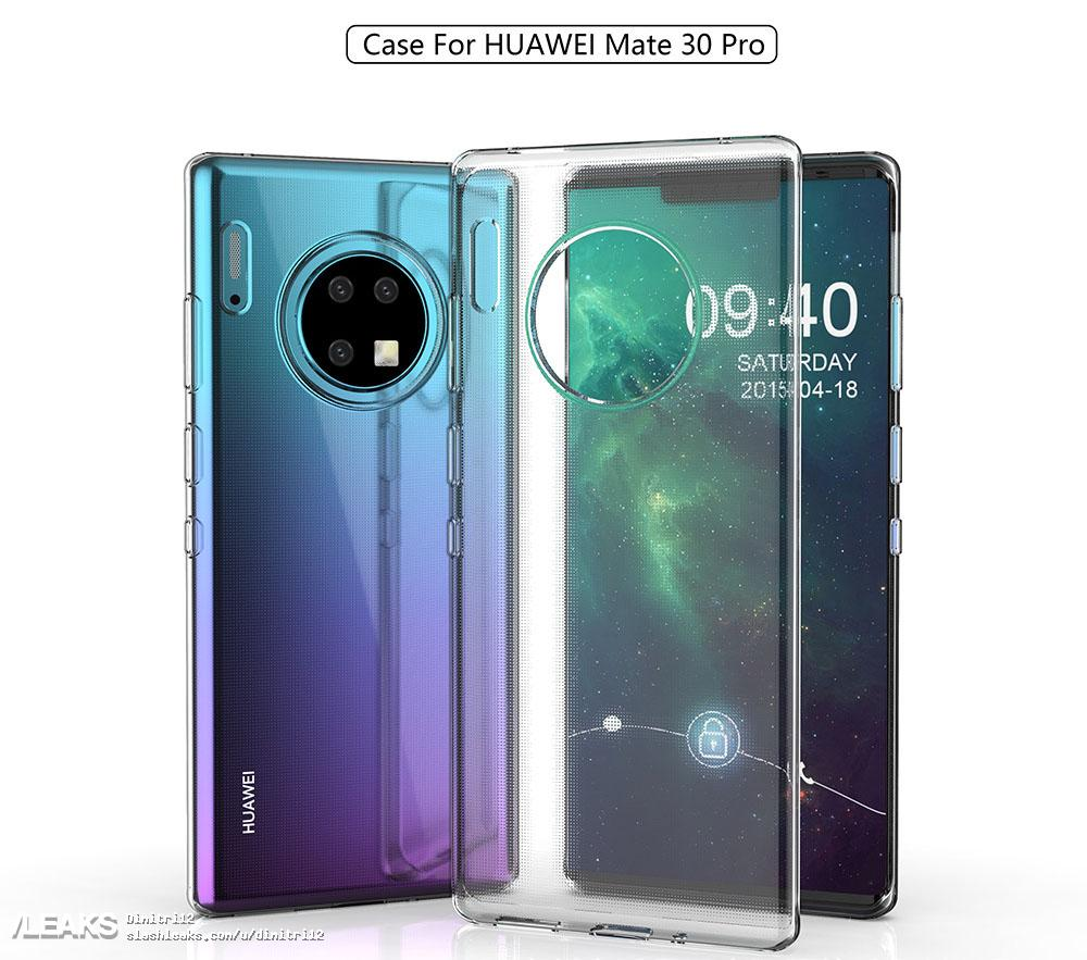 Huawei Mate 30 Pro Case Renders Leaked Online  Confirms Previous Leaked Designs
