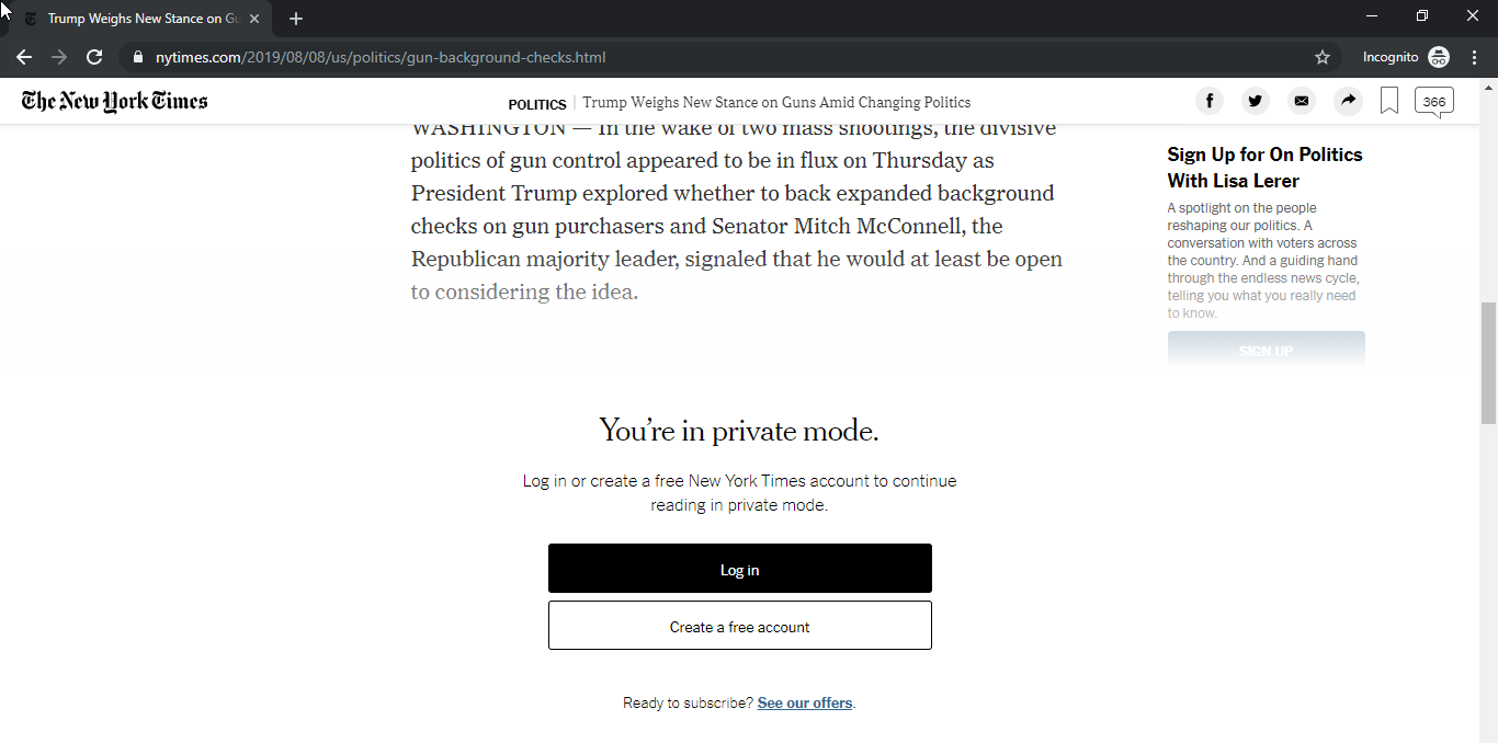 Websites already working around Google Chrome's Incognito detection