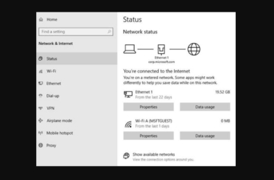 Microsoft releases Windows 10 Build 18956 with redesigned Network