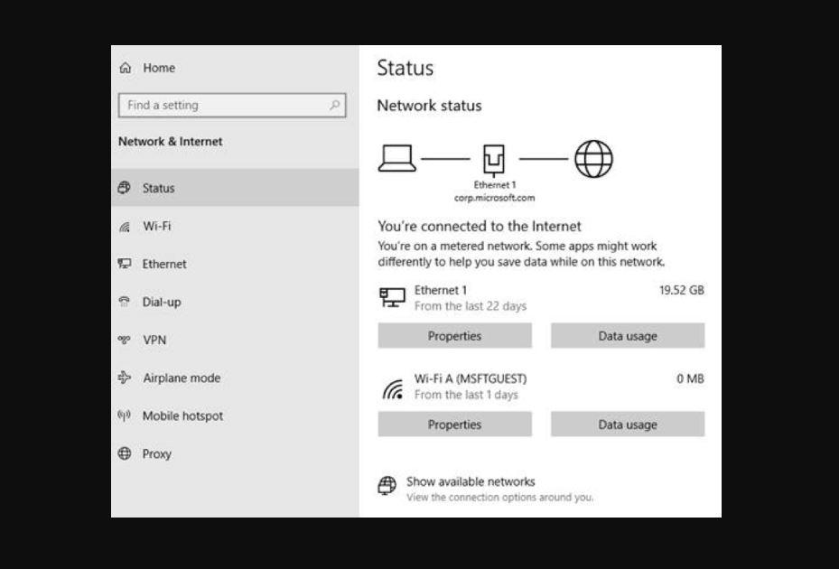Network direct windows