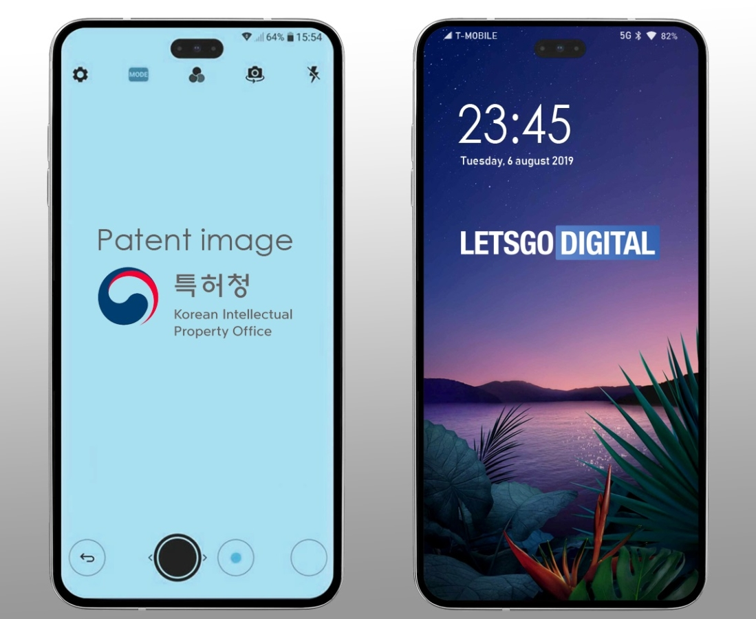 LG may drop the notch in their next flagship handset 1