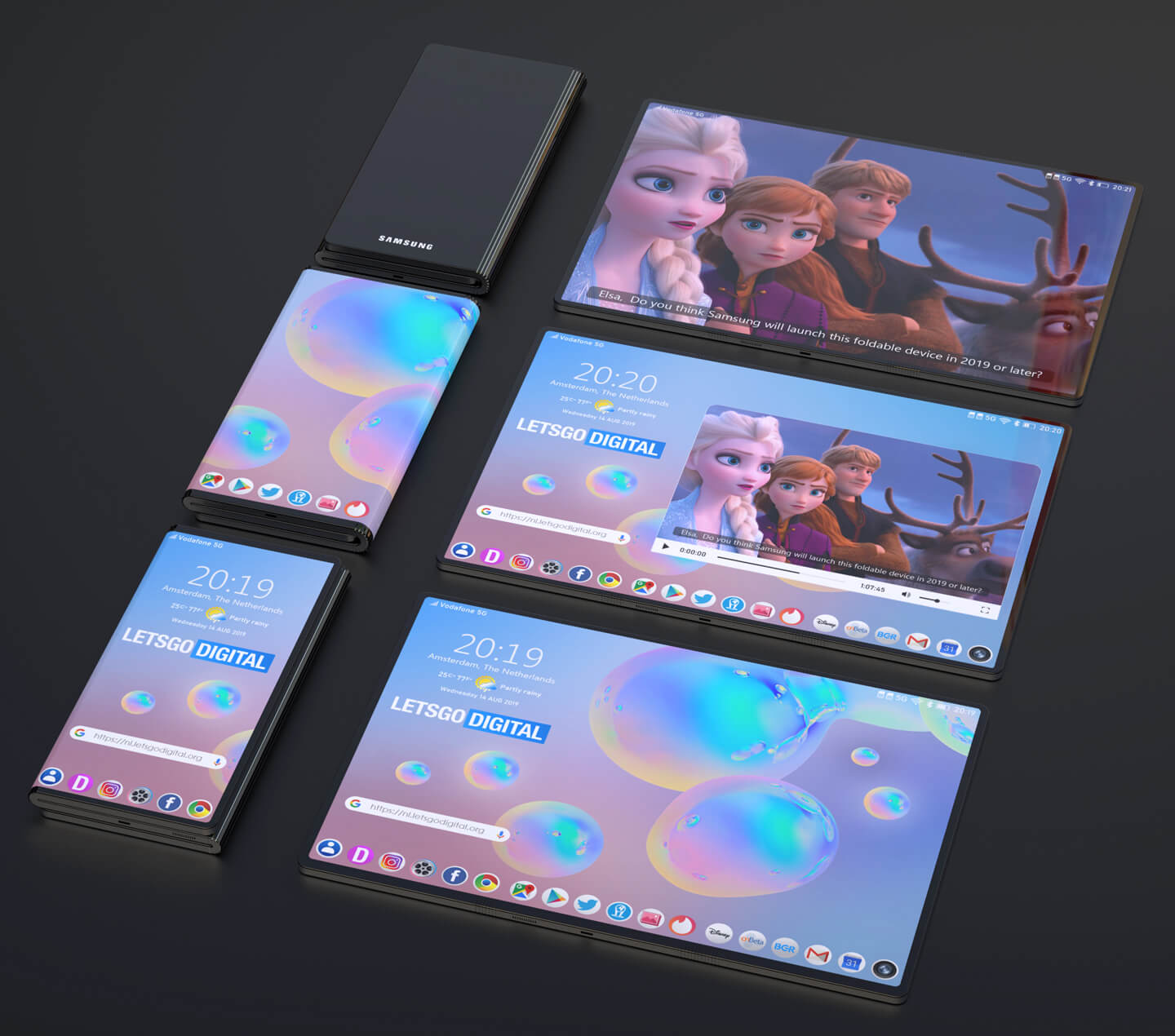 Samsung joins the tri-fold smartphone bandwagon with new patent 8