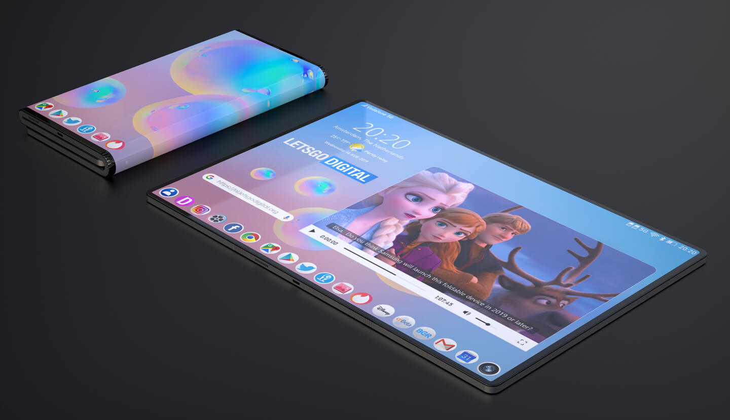 Samsung joins the tri-fold smartphone bandwagon with new patent 7